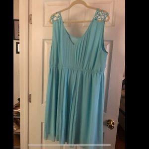 Torrid Size 3 Pleated Dress